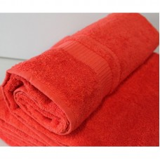 Osuška Froté - červená, 70x140 cm