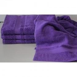 Osuška Froté - fialová, 70x140 cm