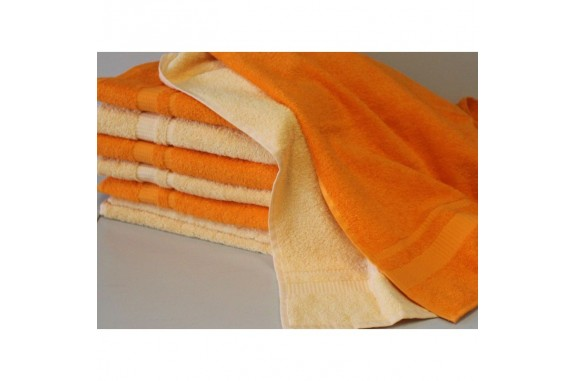 Ručník Froté -  oranžový, 50x100 cm
