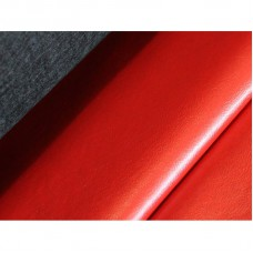 Ekokůže - Koženka DERI - červená, metráž