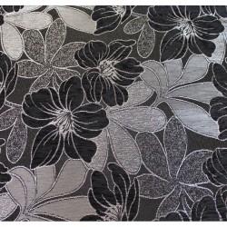 Potahová látka LUKS-554   - black and gray