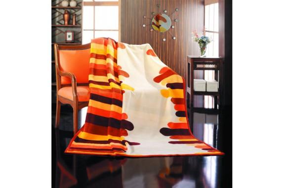 Deka Rafail PS405, bavlna - oranžová nálada