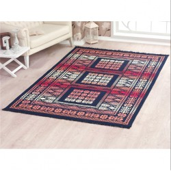Tkaný koberec Kelim K695A - 160x250cm, modrý
