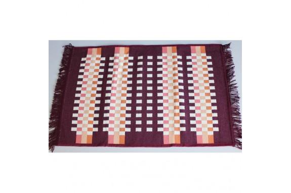 Tkaný koberec Kelim K840C - 60x90cm, vínový