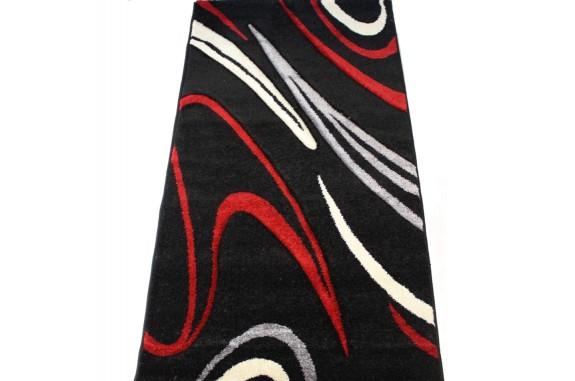 Kusový koberec - Darcy-2636A, 80x150cm - černý