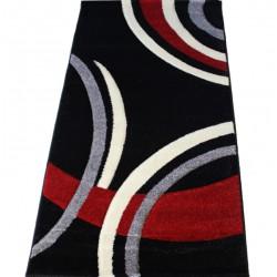Kusový koberec - Darcy-2639A, 80x150cm - černý