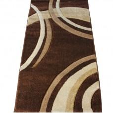 Kusový koberec - Darcy-2639A, 80x150cm - hnědý