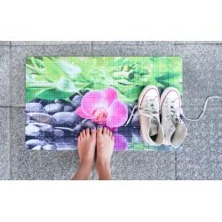 Rohožka - Orchid, 45x75 cm