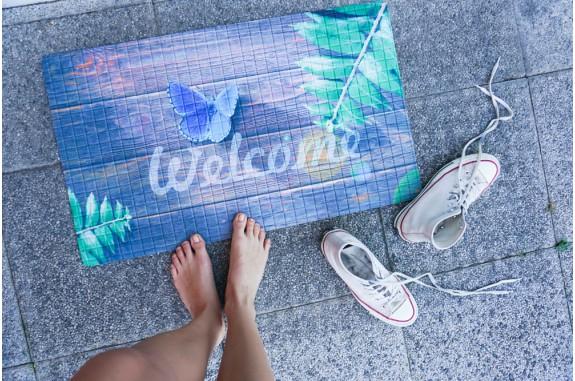 Rohožka - Welcome -3, 45x75 cm