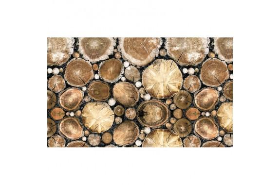 Rohožka - Wood, 45x75 cm