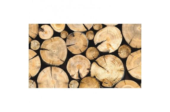 Rohožka - Wood-2, 45x75 cm