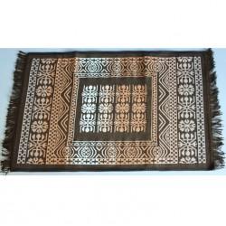 Tkaný koberec Kelim K695B - 80x200cm, hnědý