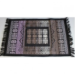 Tkaný koberec Kelim K695G - 60x90cm, černý