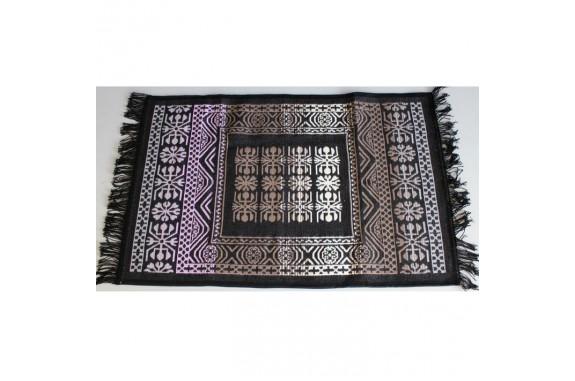 Tkaný koberec Kelim K695G - 80x200cm, černý