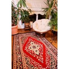 Tkaný koberec Kelim K811 160x250cm, červeno-vínový