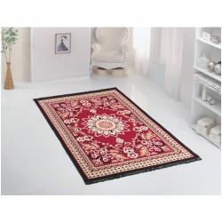 Tkaný koberec Kelim K817 160x250cm, červeno-vínový