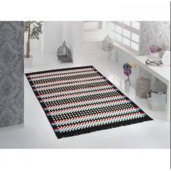 Tkaný koberec Kelim K840A - 160x250cm, černý