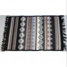 Tkaný koberec Kelim K845 60x90cm, černý