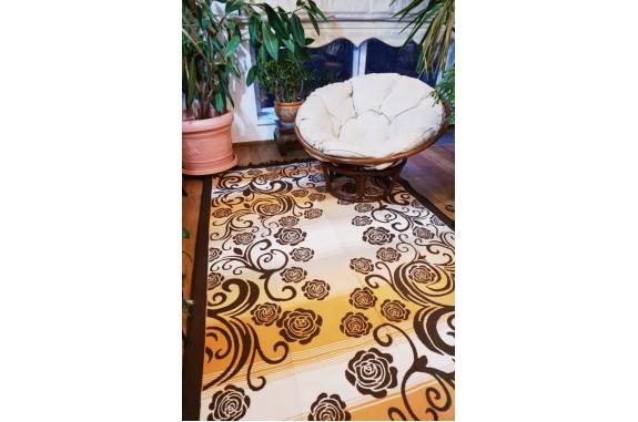 Tkaný koberec  Kelim K832 160x250cm, hnědý
