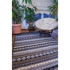 Tkaný koberec Kelim K845 160x250cm, hnědý