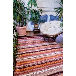 Tkaný koberec Kelim K845C 160x250cm, vínový