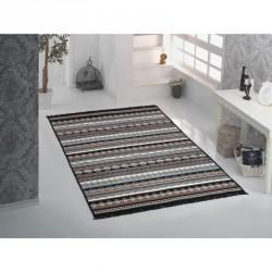 Tkaný koberec Kelim K845 160x250cm, černý
