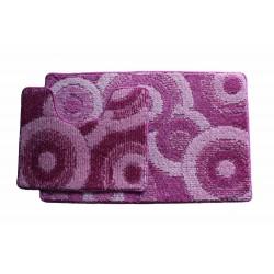 Koupelnová předložka Comfort Classic CLC- st.růžová - set 2 ks