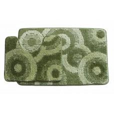 Koupelnová předložka Comfort Classic CLC- zelená - set 2 ks