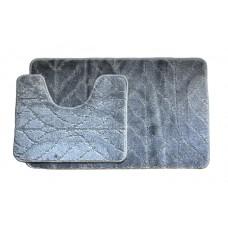 Koupelnová předložka Comfort Classic- šedá - set 2 ks