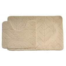 Koupelnová předložka Comfort Classic- béžová - set 2 ks