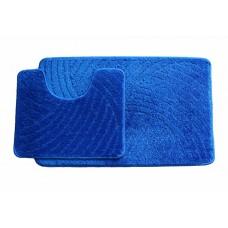 Koupelnová předložka  Classic CTN- modrá - set 2 ks