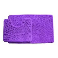 Koupelnová předložka  Classic CTN- Violet - set 2 ks