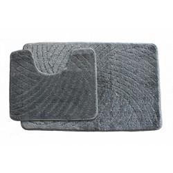 Koupelnová předložka  Classic CTN- šedá - set 2 ks