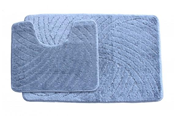 Koupelnová předložka  Classic CTN- svetle modrá - set 2 ks