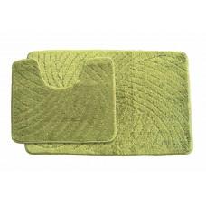 Koupelnová předložka  Classic CTN- zelená - set 2 ks
