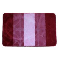 Koupelnová předložka  Comfort Gold 50x80cm- červená/růžová