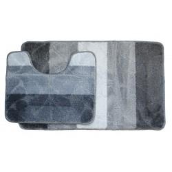 Koupelnová předložka Comfort Gold - šedá -set 2 ks