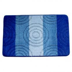 Koupelnová předložka Comfort Silver 50x80cm - modrá
