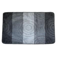 Koupelnová předložka Comfort Silver 50x80cm - šedá