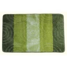 Koupelnová předložka Comfort Silver 50x80cm - zelená