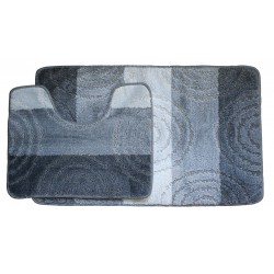 Koupelnová předložka Comfort Silver - šedá -set 2 ks