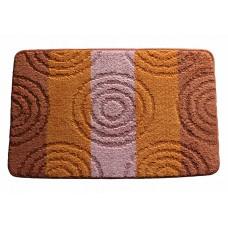 Koupelnová předložka Comfort Silver 50x80cm - oranžová