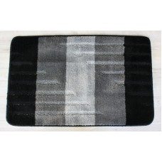 Koupelnová předložka Comfort Toronto 50x80cm - černá/šedá
