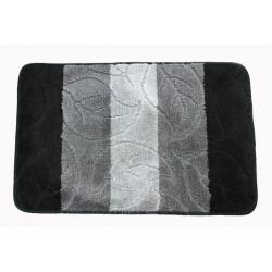 Koupelnová předložka Comfort 50x80cm - černá/šedá