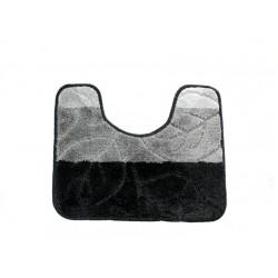 Koupelnová předložka  WC 40x50cm černá/šedá