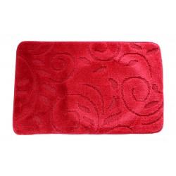 Koupelnová předložka  Comfort 50x80cm- červená větvička