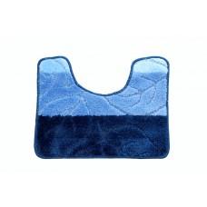 Koupelnová předložka  WC 40x50cm modrá