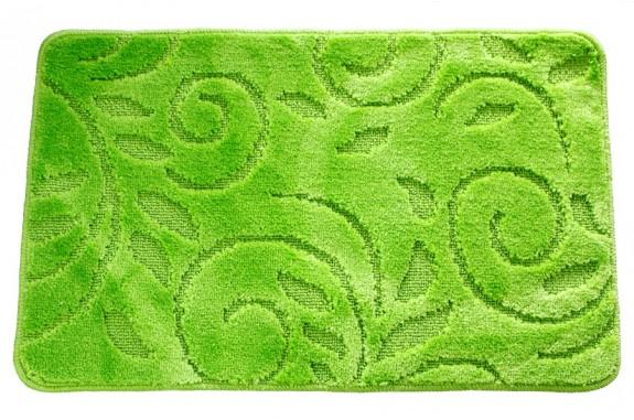 Koupelnová předložka  Comfort 50x80cm - zelené jablko, větvička