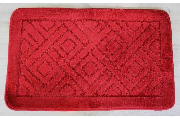Koupelnová předložka  Comfort 50x80cm- červená