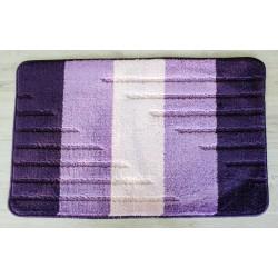 Koupelnová předložka Comfort Toronto 50x80cm - fialová